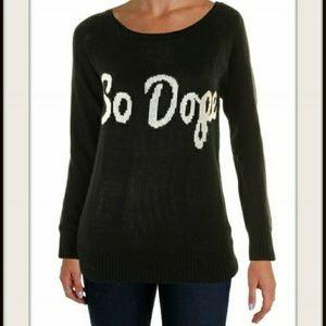 "NWT Black ""So dope"" sweater"